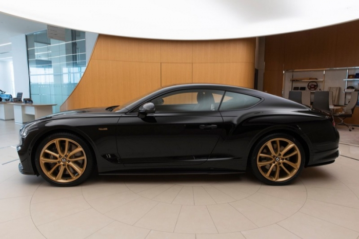 Khám phá Bentley Continental GT Aurum giới hạn 10 chiếc trên thế giới