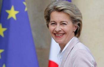 Bà Ursula von der Leyen được bầu làm Chủ tịch Ủy ban châu Âu