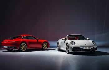 Porsche ra mắt 911 Coupe và 911 Convertible