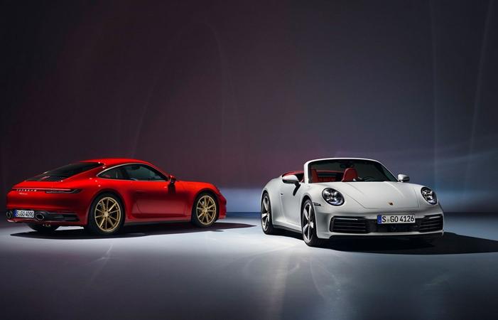 porsche ra mat 911 coupe va 911 convertible