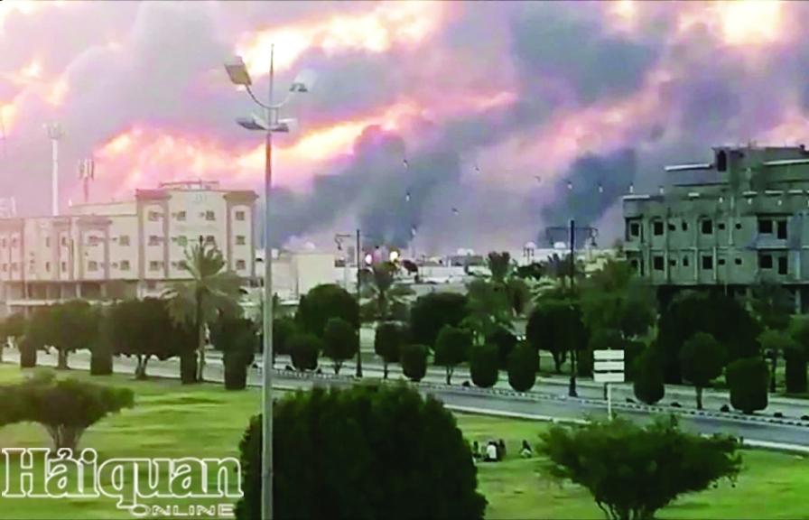 Tác động từ vụ tấn công  cơ sở lọc dầu ở Saudi Arabia