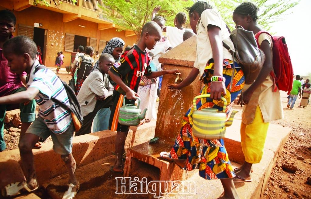 Châu Phi ứng dụng công nghệ mới để giải quyết tình trạng thiếu nước ở đô thị
