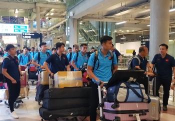 U23 Việt Nam có mặt tại Thái Lan, sẵn sàng cho VCK U23 châu Á 2020