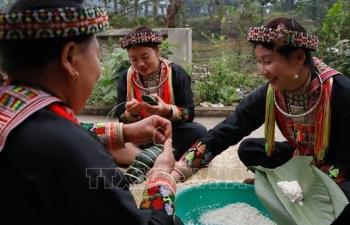 Phong tục đón Tết độc đáo của người Dao đỏ ở Lục Yên