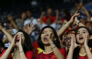 AFC cấm CĐV Việt Nam vi phạm thương quyền vào sân cổ vũ trận Triều Tiên