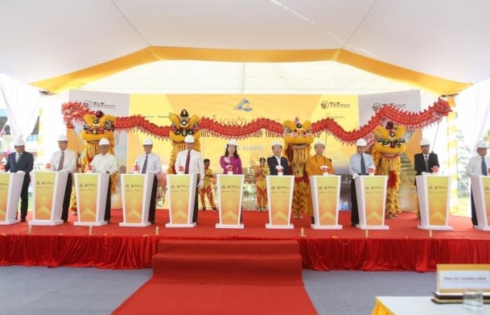 T&T Group khởi công khu phức hợp nhà ở- thương mại tại Long Xuyên