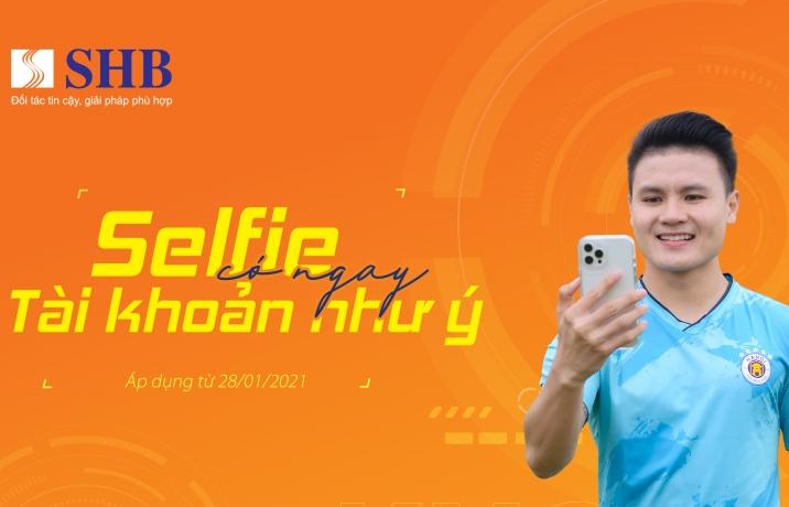 'Selfie' có ngay tài khoản như ý cùng SHB