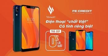 FE CREDIT và Vsmart hợp tác hỗ trợ khách hàng mua điện thoại