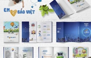 Ra mắt Báo cáo phát triển bền vững với thông điệp 'Em yêu Bảo Việt'