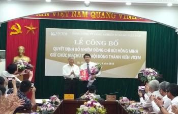 Ông Bùi Hồng Minh được bổ nhiệm giữ chức Chủ tịch VICEM