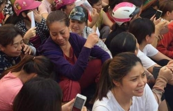 """2.500 công nhân công ty Kai Yang hoang mang vì """"ông chủ"""" biến mất"""