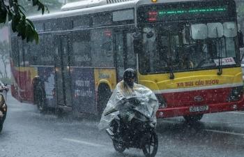 Bắc Bộ chuẩn bị đón đợt mưa dông diện rộng