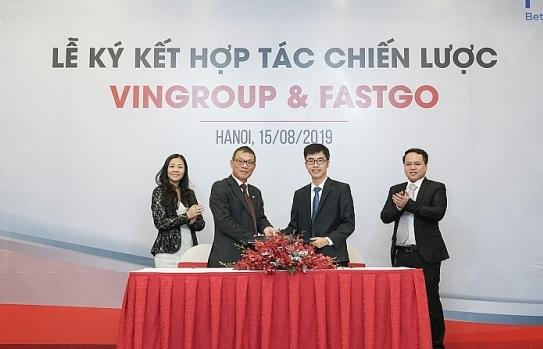 Vingroup hợp với Fastgo tham gia thị trường xe công nghệ
