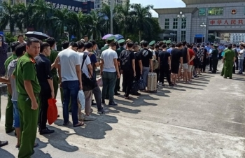 Bắt 28 đối tượng Trung Quốc lập sàn chứng khoán giả ở Quảng Ninh