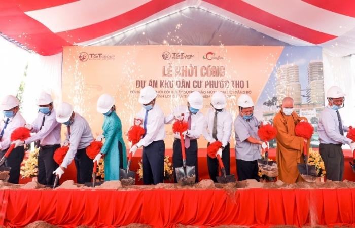 T&T Group khởi công dự án bất động sản đầu tiên tại Đồng bằng sông Cửu Long