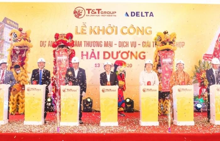 T&T Group khởi công xây dựng Trung tâm thương mại tại TP Hải Dương