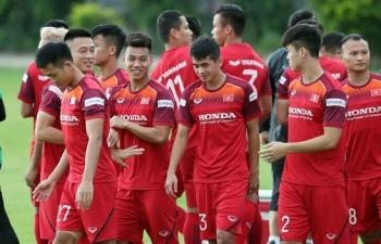 Chốt danh sách đội tuyển Việt Nam đấu với Thái Lan
