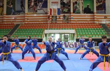 Hơn 80 võ sinh từ các nước tới Ai Cập thi đấu Việt Võ Đạo