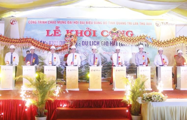 T&T Group khởi công dự án Khu dịch vụ - du lịch gần 5.000 tỷ tại Quảng Trị