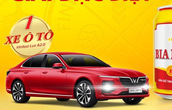 Bia Hà Nội công bố chủ nhân trúng thưởng ô tô Vinfast