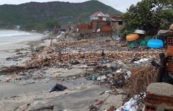 Các tỉnh ở miền Trung, Tây Nguyên chịu thiệt hại nặng nề do bão số 6