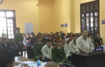 An ninh thắt chặt tại phiên xử trùm ma túy đội lốt đại gia Triệu Ký Voòng