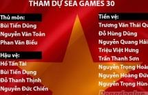 HLV Park Hang Seo gút danh sách 21 cầu thủ chính thức dự SEA Games 30