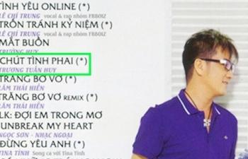 Ca sĩ Đàm Vĩnh Hưng bị kiện vì bài hát Chút tình phai