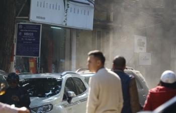 Ô nhiễm không khí tại Hà Nội lại vọt ngưỡng nguy hại