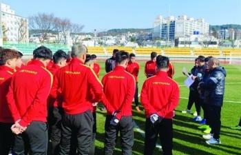 Ông Park mong U23 Việt Nam đoạt suất dự Olympic