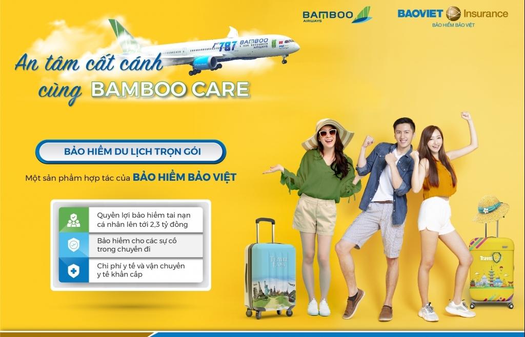 An tâm từng dặm vay với bảo hiểm du lịch Bamboo CARE
