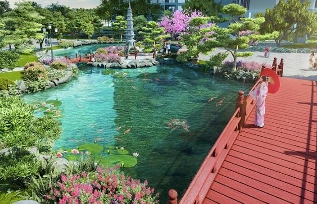 The Zenpark– Tinh thần Nhật Bản giữa lòng Vinhomes Ocean Park