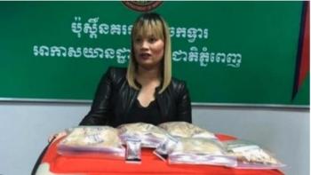 Phụ nữ Úc bị bắt ở Campuchia với gần 2kg heroin