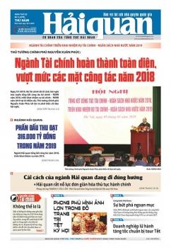 Những tin, bài hấp dẫn trên Báo Hải quan số 5 phát hành ngày 10/1/2019