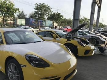 Nhiều siêu xe nhập khẩu vào đầu năm mới