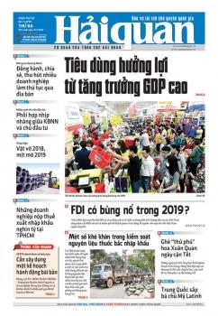 Những tin, bài hấp dẫn trên Báo Hải quan số 7 phát hành ngày 15/1/2019
