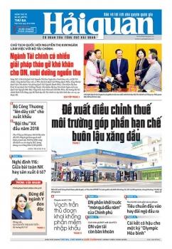 Những tin, bài hấp dẫn trên Báo Hải quan số 25 phát hành ngày 27/2/2018