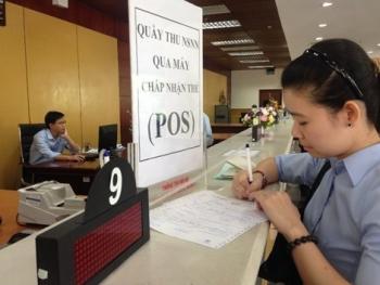 Hôm nay, Kho bạc Nhà nước thu ngân sách qua máy chấp nhận thẻ POS của Vietinbank