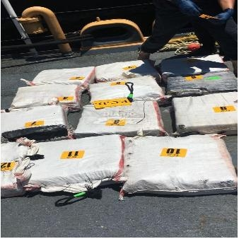 240kg cocaine trên một chiếc tàu hàng