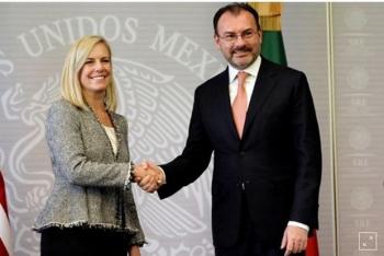 Mỹ, Mexico tăng cường hợp tác biên giới, hải quan