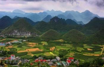Toàn cảnh vẻ đẹp hùng vĩ của Hà Giang những ngày vào Hạ