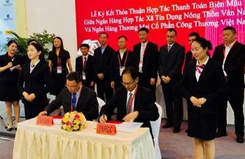 Hợp tác thanh toán biên mậu với Ngân hàng HTX Tín dụng Nông thôn Vân Nam