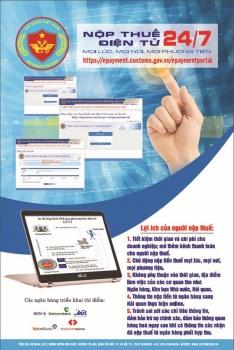 Nộp thuế điện tử 24/7: Bước đệm để thực hiện Chính phủ điện tử