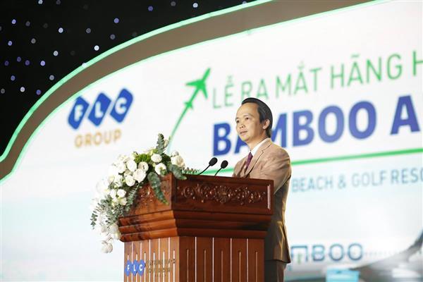 tap doan flc chinh thuc ra mat hang hang khong bamboo airways