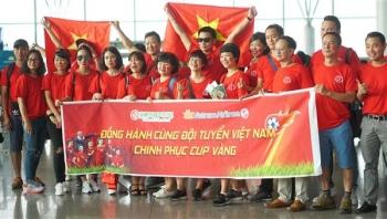 Hanoiredtour và Vietnam Airline cùng tiếp lửa đội tuyển Olympic Việt Nam