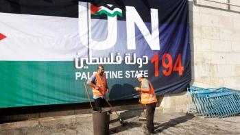 """Tổng thống Mỹ Obama """"thủ thế"""" trong vấn đề Palestine"""