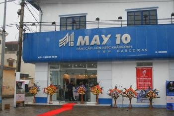 Công nhận doanh nghiệp ưu tiên cho Tổng công ty May 10