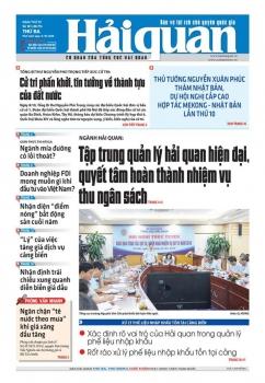Những tin, bài hấp dẫn trên Báo Hải quan số 121 phát hành ngày 9/10/2018