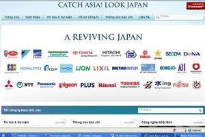 Quảng bá doanh nghiệp Nhật bằng hai thứ tiếng Việt và Anh