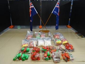 176 kg ma túy đá trong những cánh cửa container